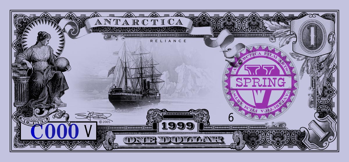 ANTARCTICA Dream-Dollars One Dollar Notes